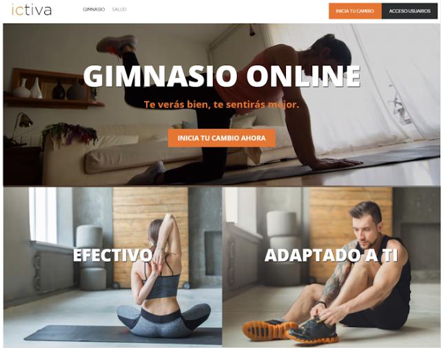 Gimnasio online ICTIVA | Opinión y experiencia + DESCUENTO