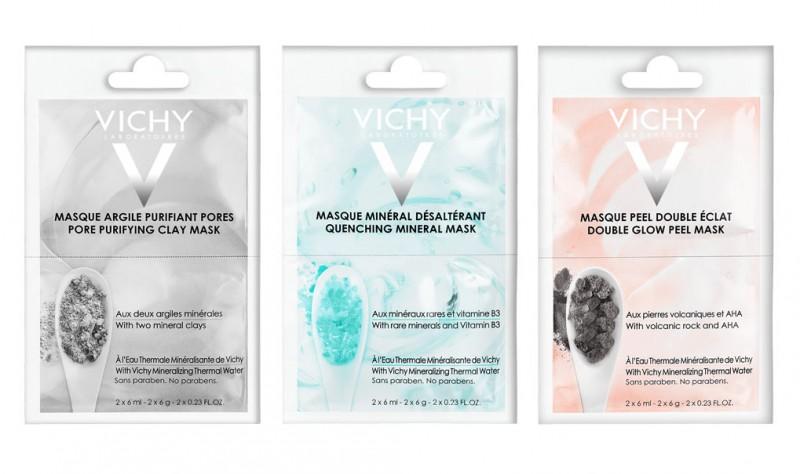 Vichy máscaras mineralizantes