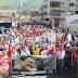 Oficialistas celebraron cumpleaños de Chávez en las calles de Ribas