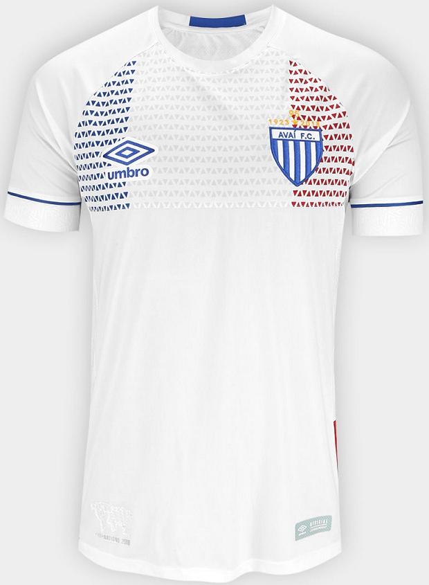 Umbro lança a nova camisa reserva do Avaí - Show de Camisas 4cdea77ddcb43