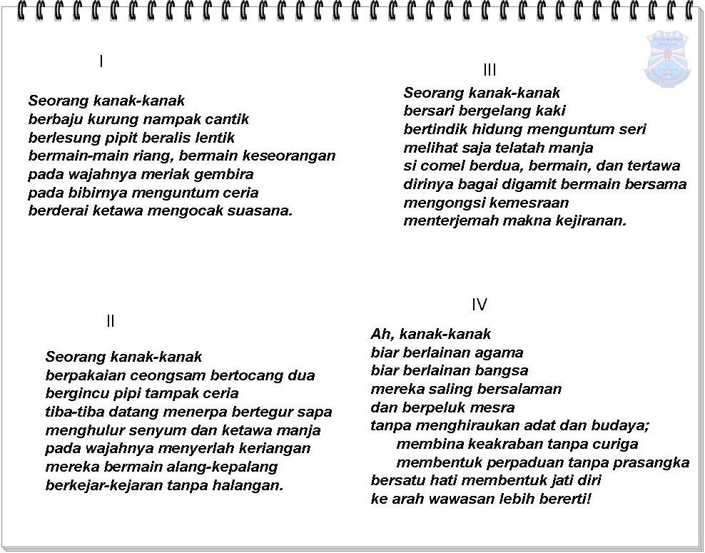 Contoh Laporan Dialog Interaktif Contoh Format Laporan Bergambar Contoh Two Contoh Karangan