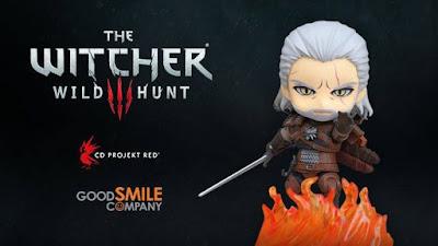 """Nendoroid Geralt de Rivia de """"The Witcher 3: Wild Hunt"""". - Good Smile Company"""