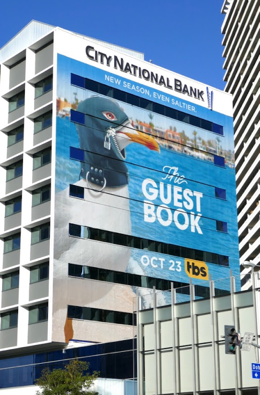 Guest Book season 2 seagull gimp mask billboard