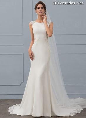 Vestidos de novia corte trompeta