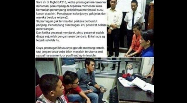 Minta (.)(.) Kanan Kiri ke Pramugari, 2 Orang Ini Akhirnya Ditangkap Pihak Keamanan Bandara