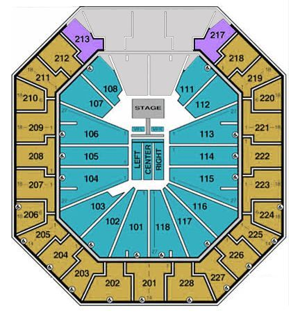 Colonial Life Arena Seating Chart NBA & Interactive Map SeatGeek - colonial life arena seating chart