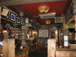 Inside a McGrory's Pub, Culdaff, Ireland