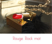 rouge rock mat de YSL