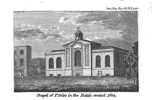 Chapel of St Giles in the Fields, London