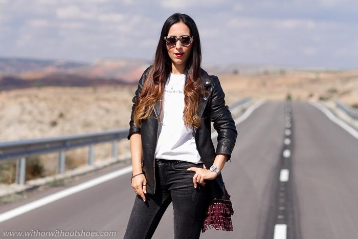 Influencer blogger de moda belleza lifestyle valenciana con propuestas de looks personales con estilo