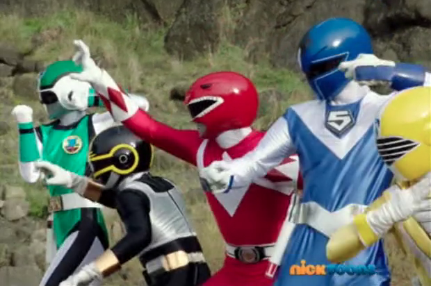 Super Sentai suits in Super Megaforce