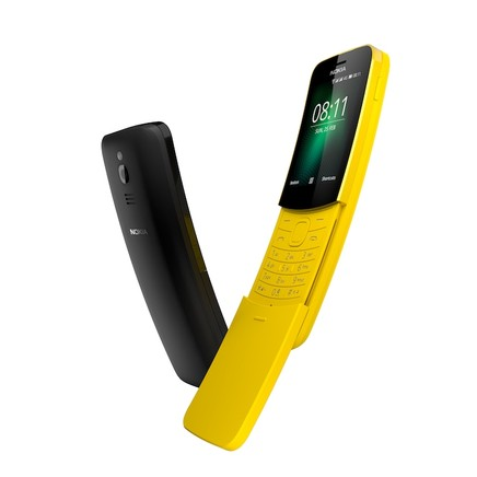 HMD Global Reborn Iconic Nokia 8110 After 22 Years At MWC 2018