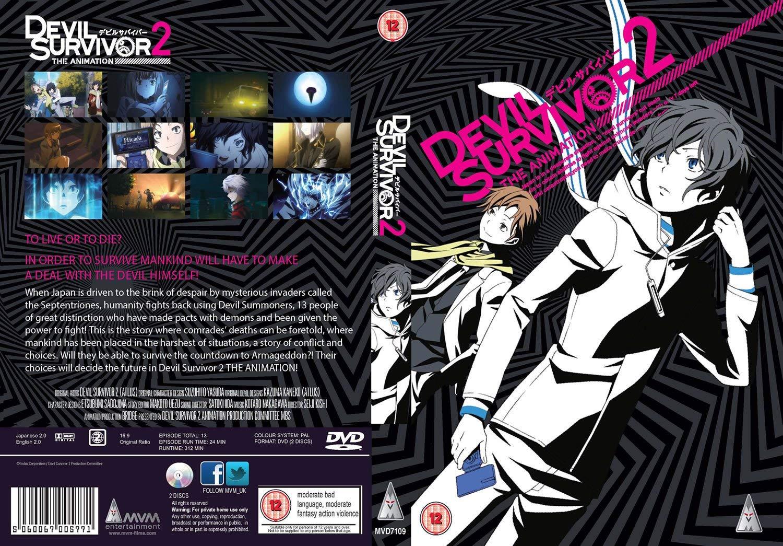 Devil Survivor 2 The Animation Blu Ray DVD Sub Indo