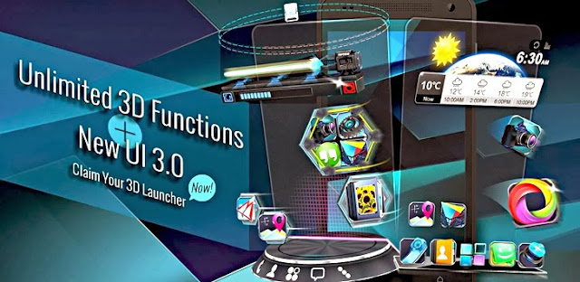 Next Launcher 3D v3.06 APK
