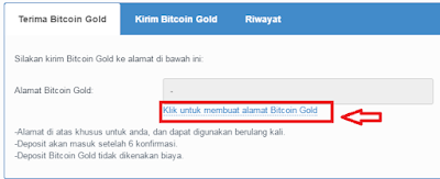 Wallet Bitcoin Gold (BTG) Pecahan Bitcoin