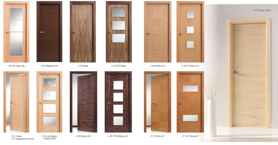 puertas de interior with modelos de puertas de interior