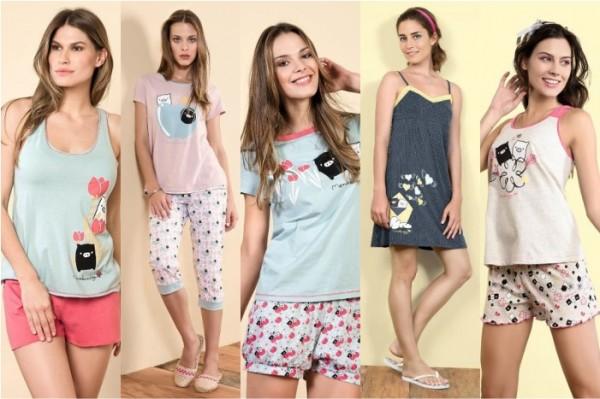 55b2b9e156 Pijamas 2012 – Fotos e Modelos. A hora de dormir
