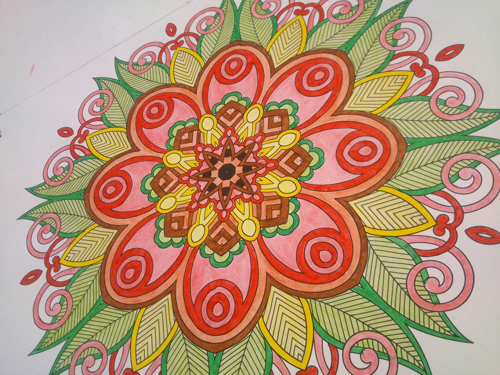 Kleurplaten Volwassenen Ingekleurd.Fresh Mandala Kleurplaten Ingekleurd Kleurplaten