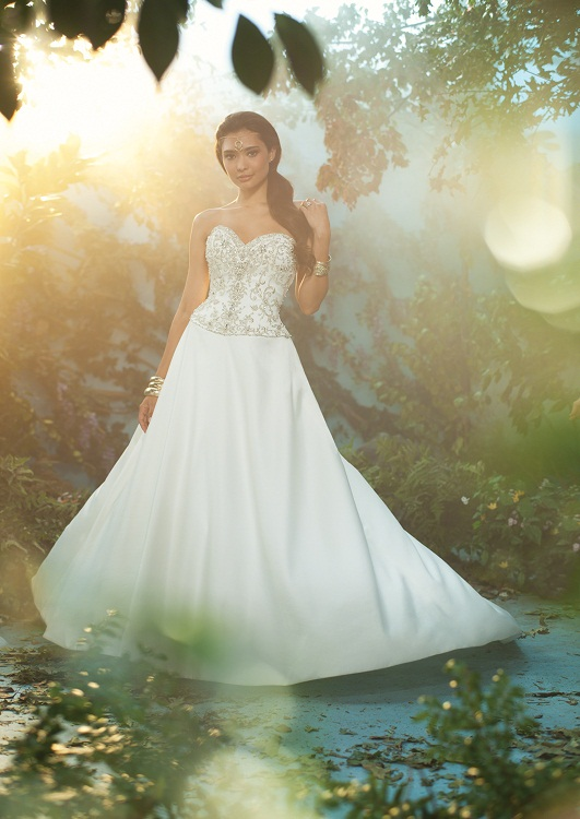 The 2017 Alfred Angelo Disney Fairy Tale Wedding Gowns Jasmine