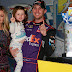 Denny Hamlin and his girlfriend Jordan Fish: Wife Bio