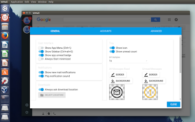WMail Gmail desktop client