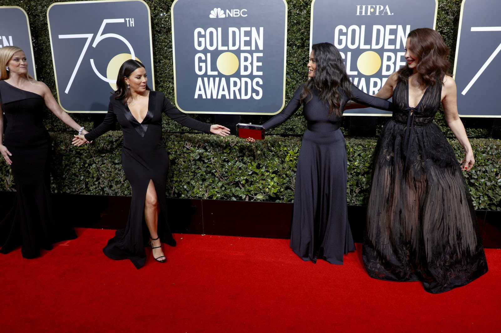 WHO WORE WHAT?.....2018 Golden Globe Awards Red Carpet: Top 10 Gowns ...