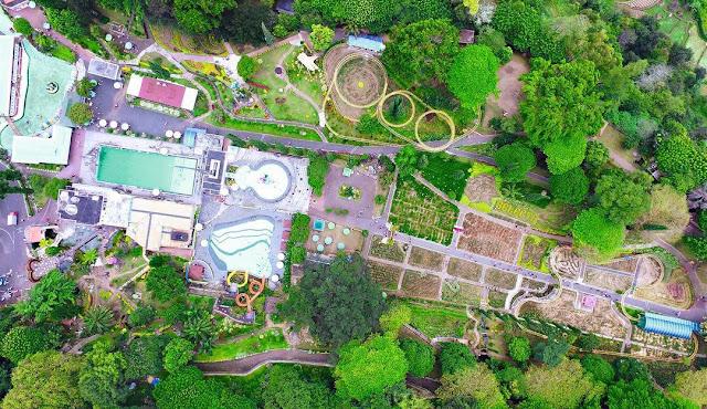 taman selecta dari drone
