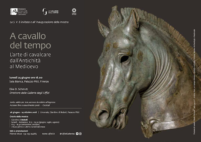 'Riding through time: The Art of horse riding from Antiquity to the Middle Ages' at the Limonaia Grande – Giardino di Boboli, Florence