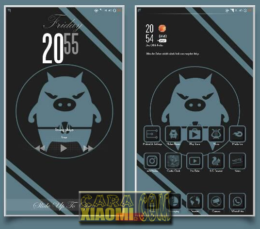 Tema MIUI Mokee Open Source Theme Mtz For Xiaomi [Update Release]
