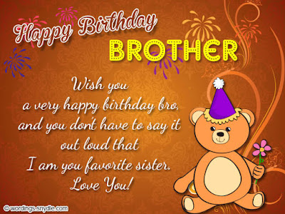wishing you a very happy birthday brothers