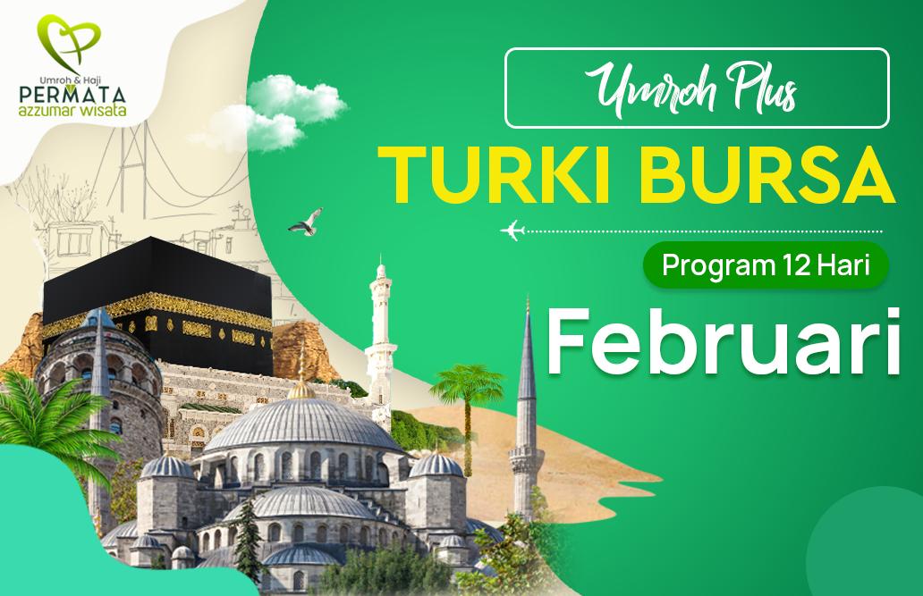 Promo Paket Umroh plus turki Biaya Murah Jadwal Bulan Februari 2020