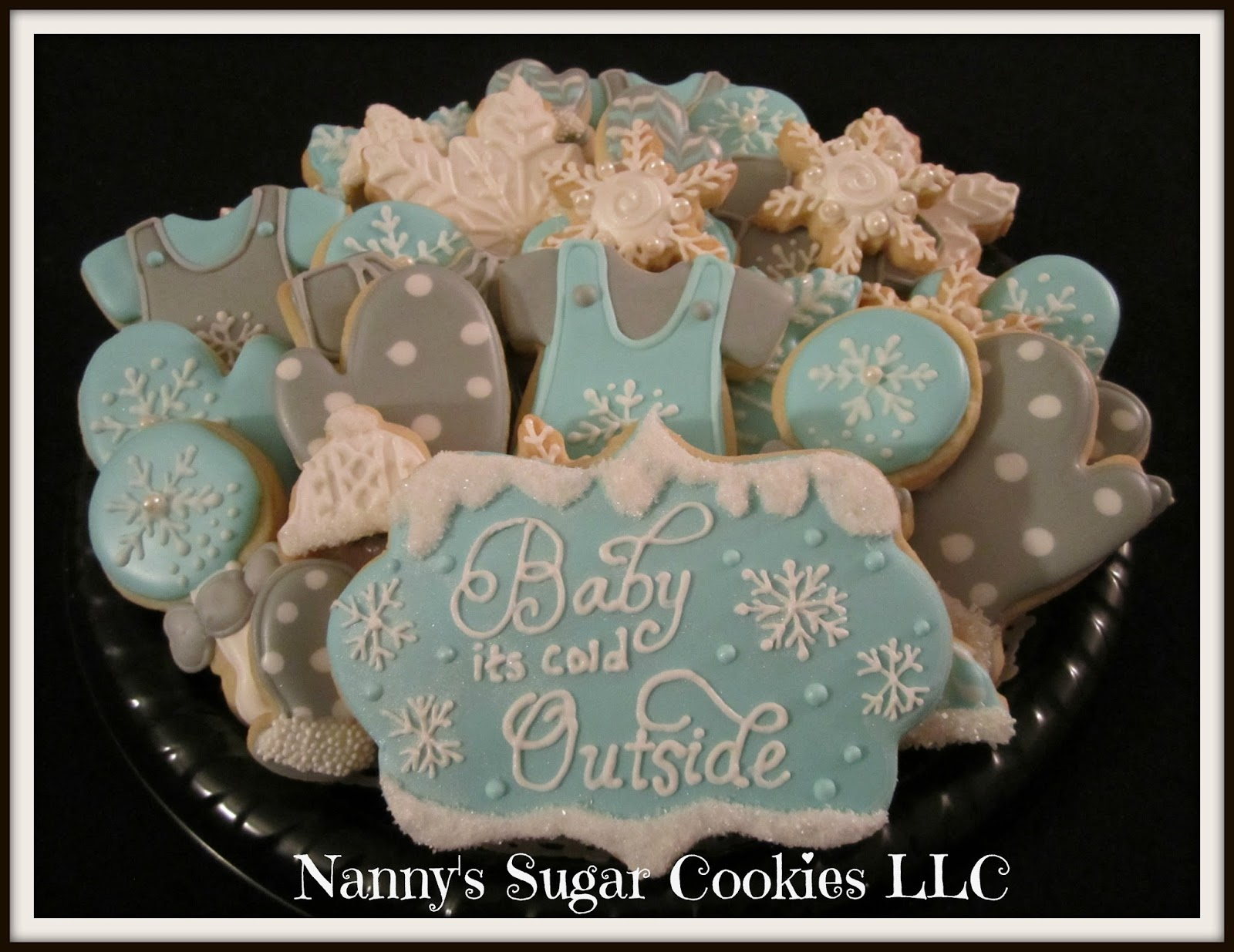 Winter Theme Baby Shower.