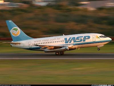 Os Boeing 737 da VASP: 36 anos no ar