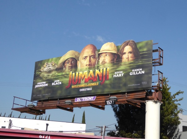 Jumanji Welcome to Jungle billboard