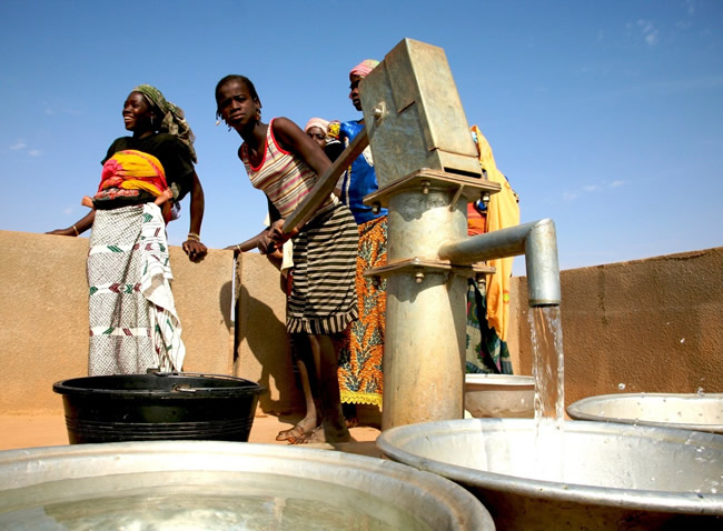 Groundwater in Burkina Faso, Africa