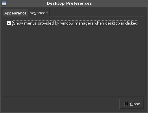 How to Change Right Click Menu on LXDE into openBox mode and