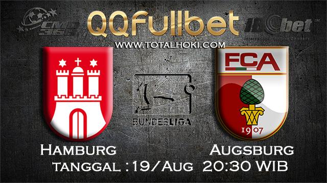 PREDIKSIBOLA - PREDIKSI TARUHAN HAMBURG VS AUGSBURG 19 AGUSTUS 2017 (BUNDESLIGA)