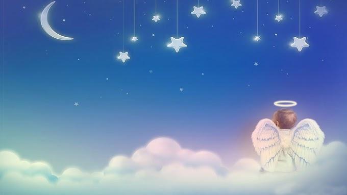 Papel de Parede Anjinho no Céu