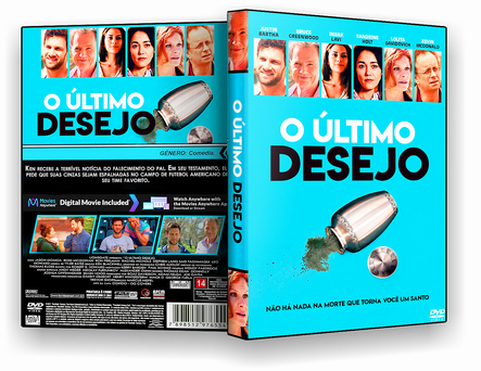 CAPA DVD – O Ultimo Desesjo – DVD-R