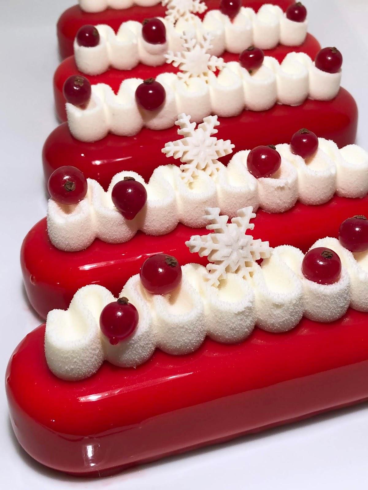 Buchettes Coco Fruits Rouges Caramel Beurre Sucre