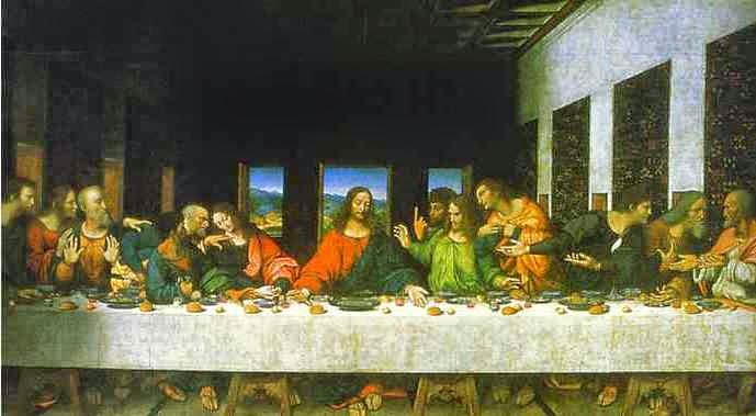 A Última Ceia - Leonardo Da Vinci | O maior artista de todos os tempos