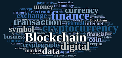 Blockchain cryptocurrency transaction finance technology exchange