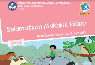 Download Buku Tematik Siswa Kelas 6 SD/MI Kurikulum 2013 Revisi 2018 PDF