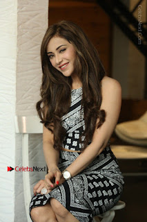 Telugu Actress Angela Krislinzki Latest Pos in Short Dress  0172.JPG