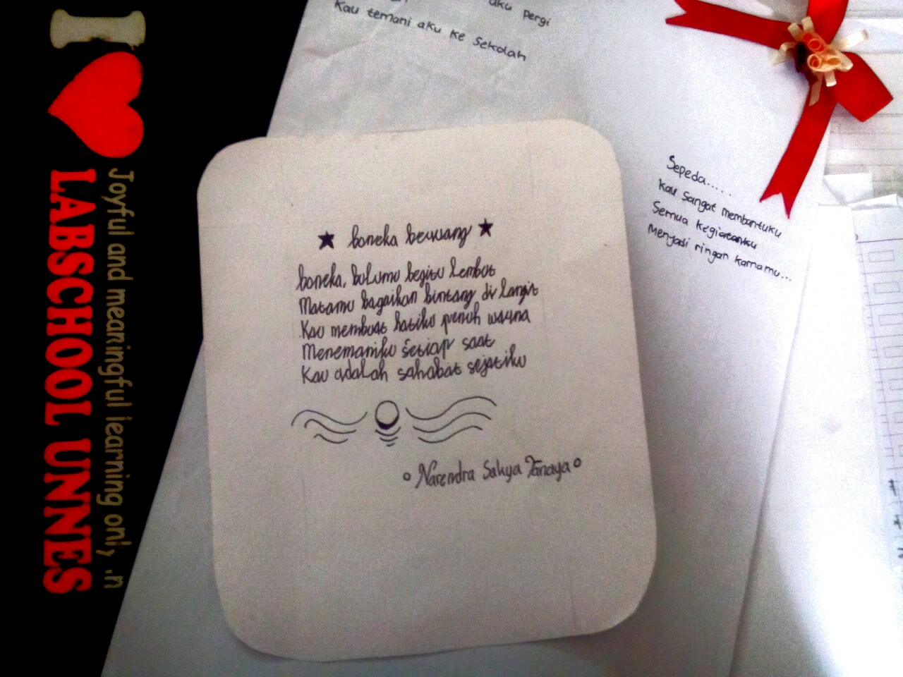 Puisi Bertema Benda Benda Dan Binatang Kesayangan Karya Siswa Sd Labschool Unnes Semarang Rifanfajrin Com