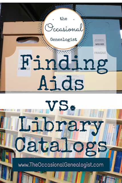 Do you know what a finding aid is? How can it help your genealogy research?