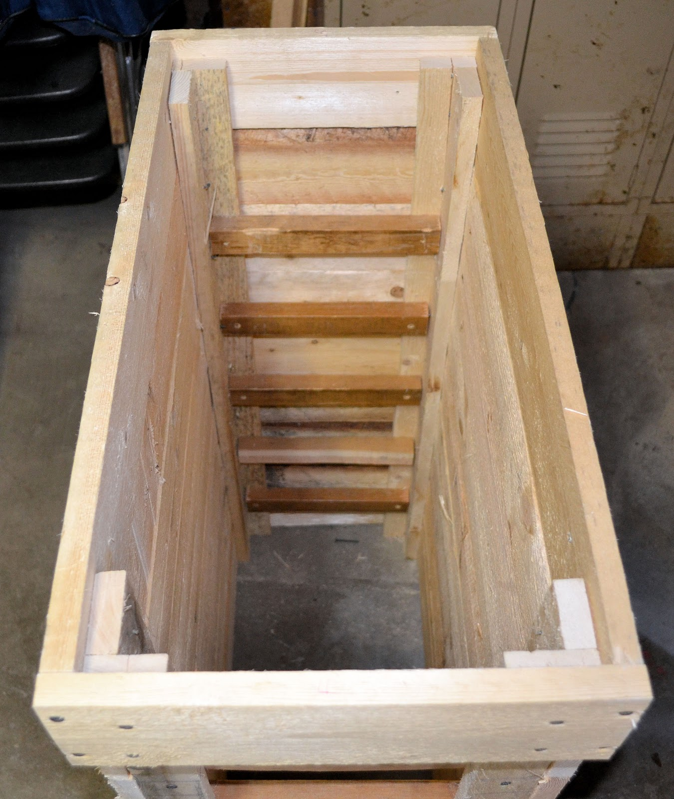 Remodelaholic How To Make A Rustic Pallet Cabinet
