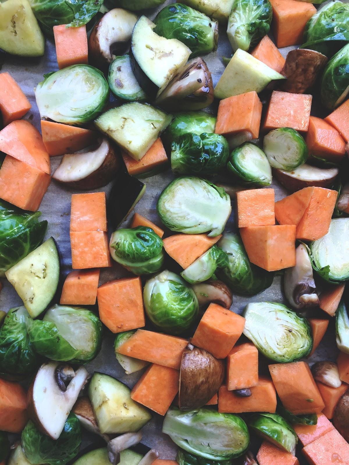 Easy Roasted Vegetables   Akinokiki