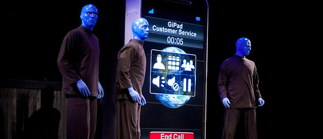 Show do Blue Man Group em Nova York