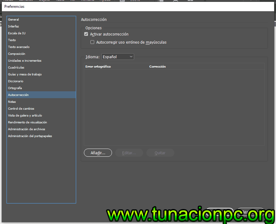 Adobe Incopy CC 2019 para Windows
